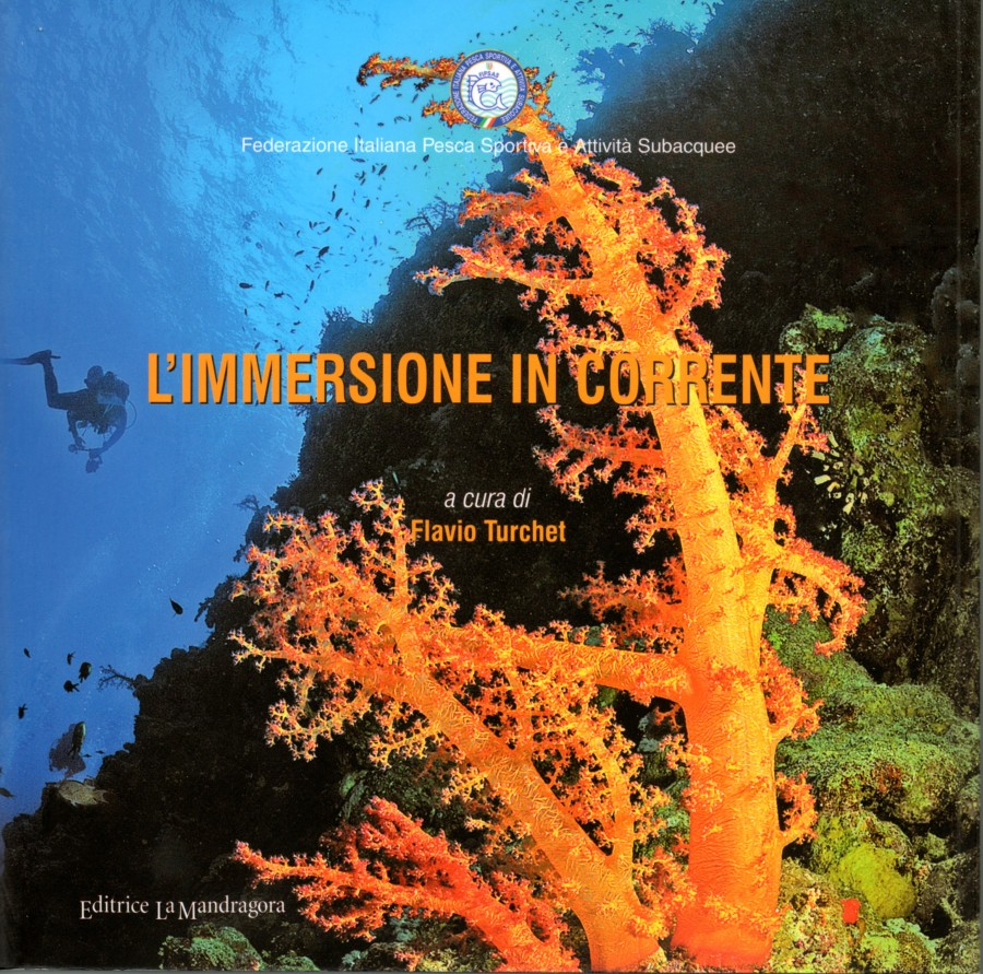 Libro l'Immersione in corrente di Flavio Turchet