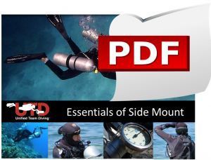 Scarica il programma del corso Essentials of Side Mount Diving
