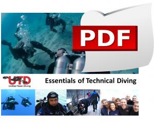 Scarica il programma in PDF del Corso Essentials of Technical Diving