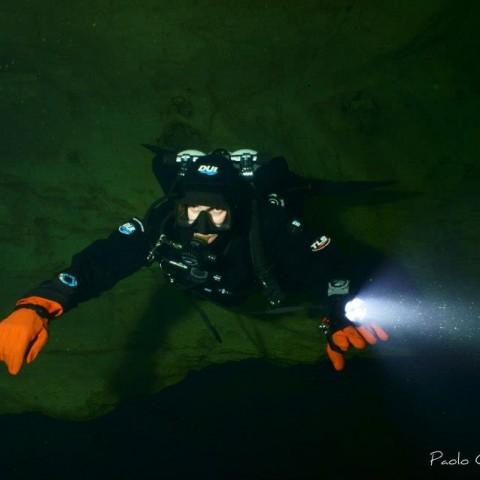 Flavio - Immersione grotta Oliero