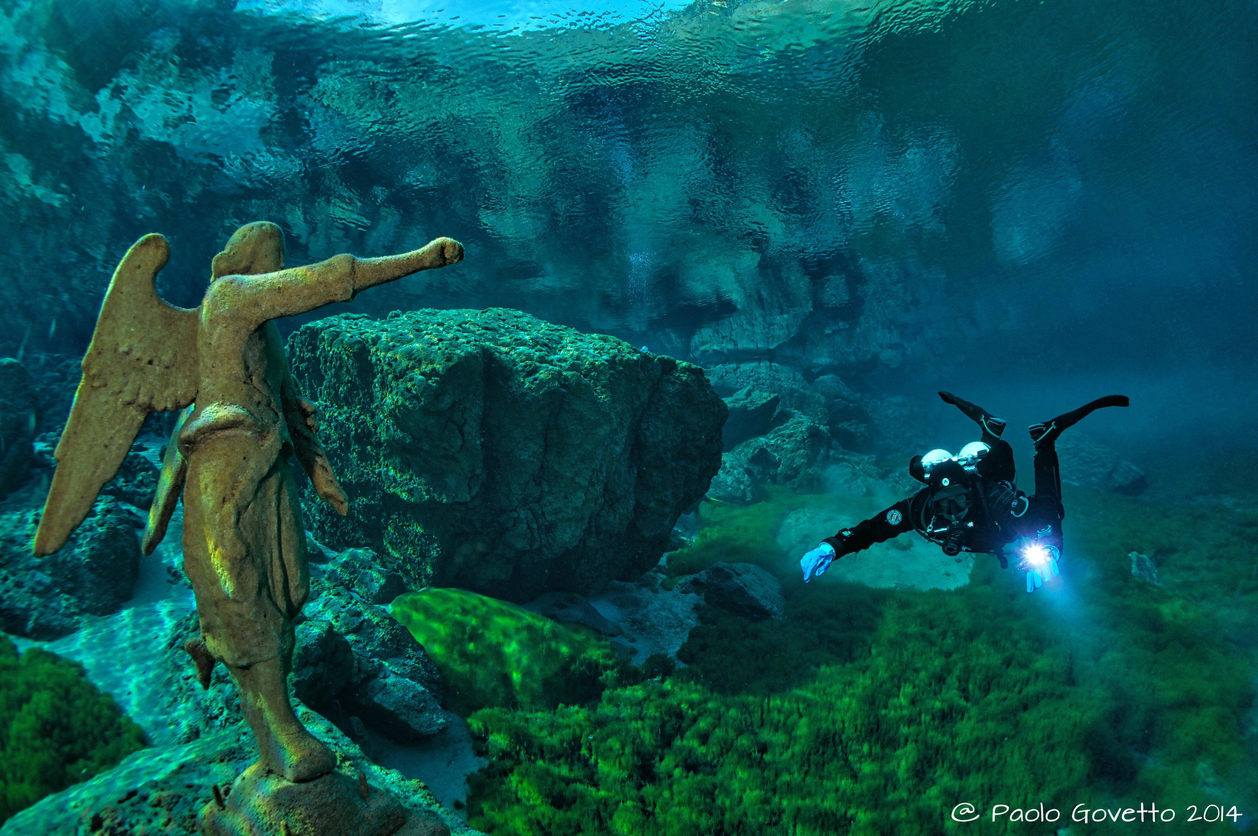 Workshop di fotografia subacquea al Lago del Cornino