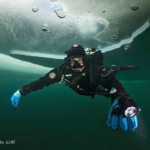 Flavio - Ice dive (Austria)